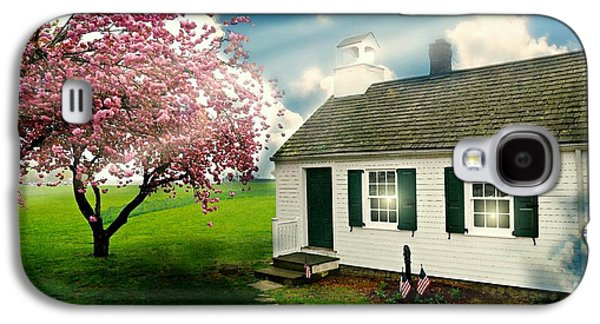 The Little Old Schoolhouse Galaxy S4 Case