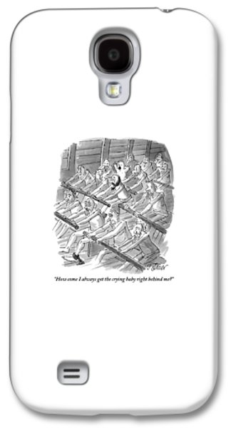 One Rower To Another On A Slave Ship Galaxy S4 Case
