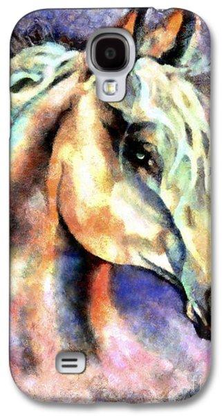 One Spirit Galaxy S4 Case by Janine Riley