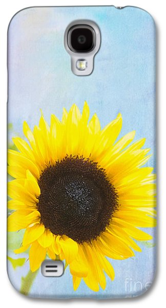 One Sunflower Galaxy S4 Case by Kay Pickens