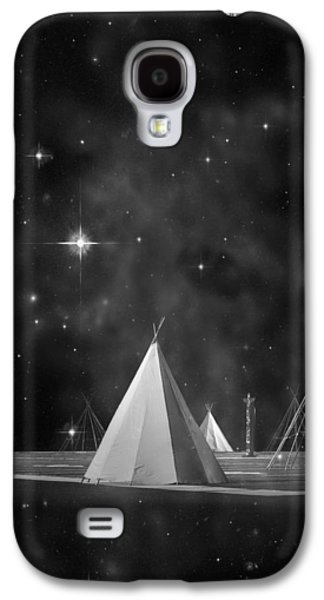 One Tribe Bw Galaxy S4 Case by Laura Fasulo