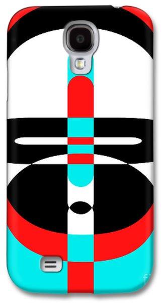 Pop Art People 3 Galaxy S4 Case by Edward Fielding