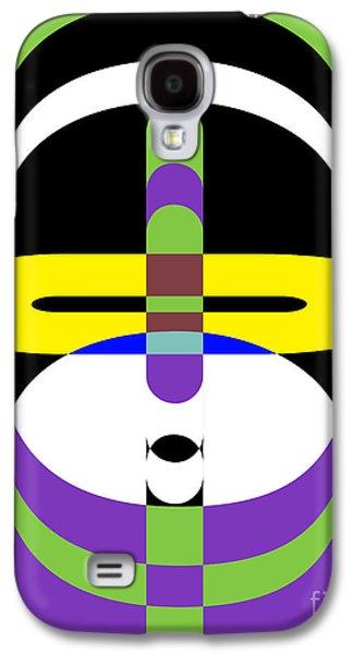 Pop Art People 2 Galaxy S4 Case by Edward Fielding