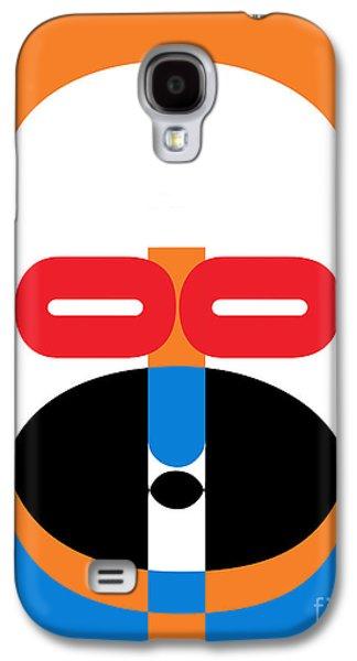 Pop Art People 1 Galaxy S4 Case by Edward Fielding