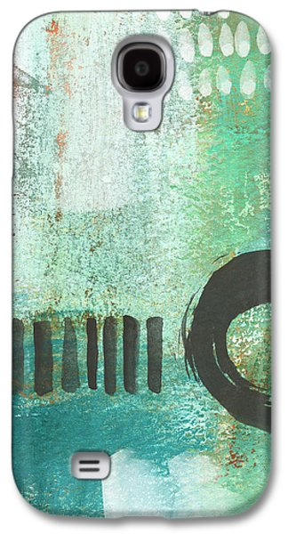 Open Gate- Contemporary Abstract Painting Galaxy S4 Case by Linda Woods