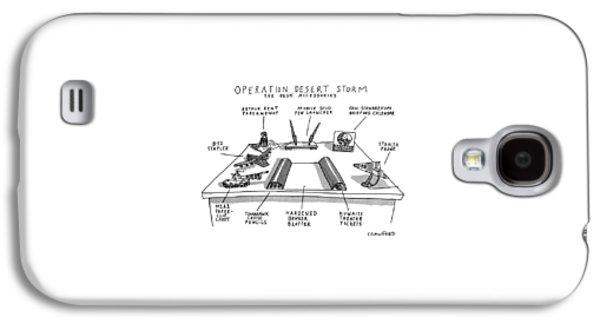 Operation Desert Storm The Desk Accessories Galaxy S4 Case