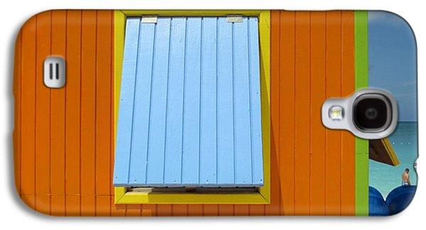 Orange Cabin Galaxy S4 Case by Randall Weidner