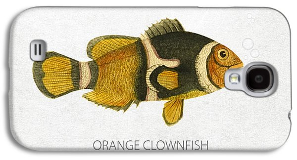 Orange Clownfish Galaxy S4 Case