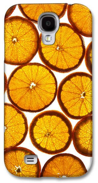 Orange Fresh Galaxy S4 Case by Vitaliy Gladkiy