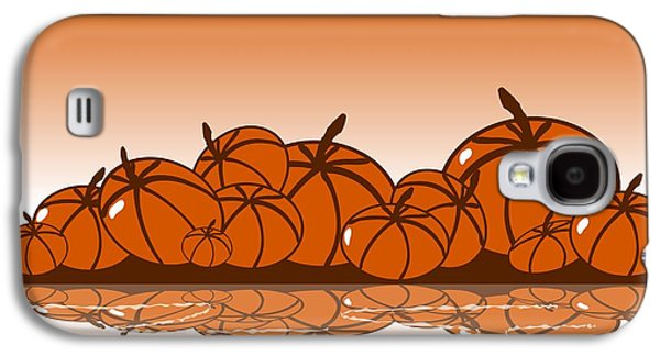 Orange Harvest Galaxy S4 Case by Anastasiya Malakhova