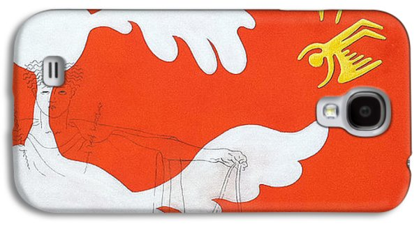 Orange Palm Springs Idyll Galaxy S4 Case by Stan Magnan