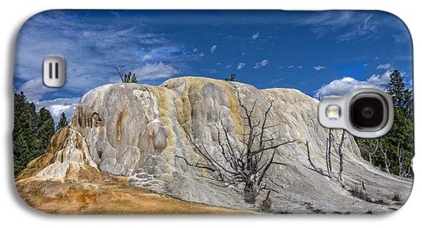 Orange Spring Mound Yellowstone National Park Galaxy S4 Case