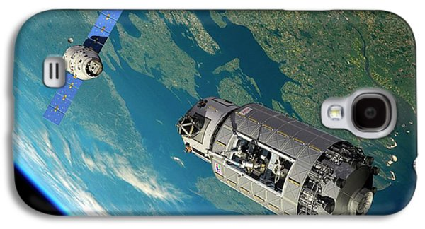 Orbital Maintenance Docking Galaxy S4 Case by Walter Myers