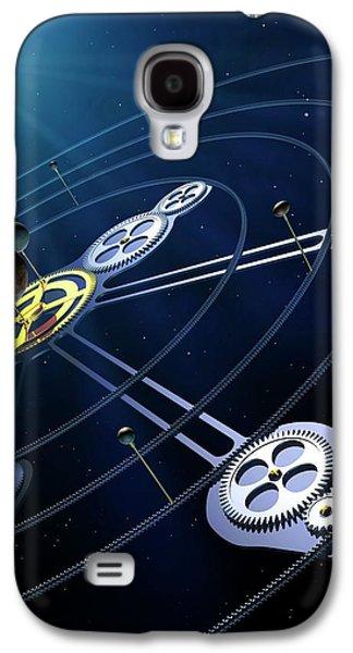 Orbital Resonances In The Pluto System Galaxy S4 Case by Mark Garlick