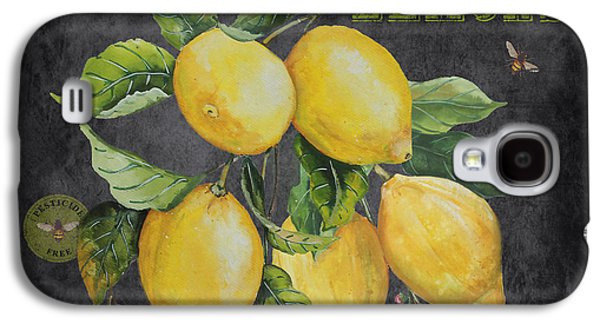 Orchard Fresh Lemons-jp2679 Galaxy S4 Case by Jean Plout