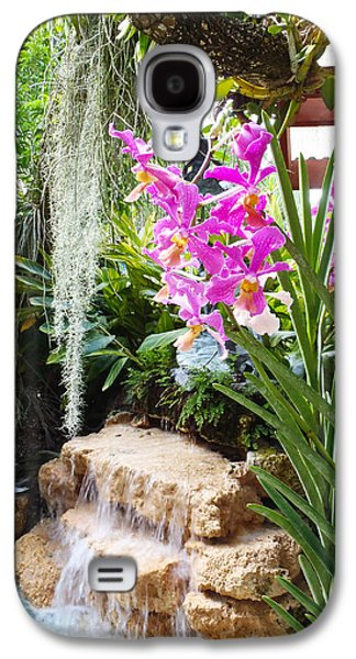 Orchid Garden Galaxy S4 Case by Carey Chen