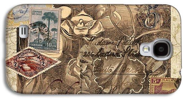 Orchidaceae Postcard Galaxy S4 Case