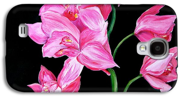 Orchids Galaxy S4 Case