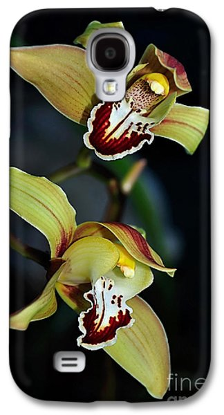 Orchids In The Evening Galaxy S4 Case by Kaye Menner