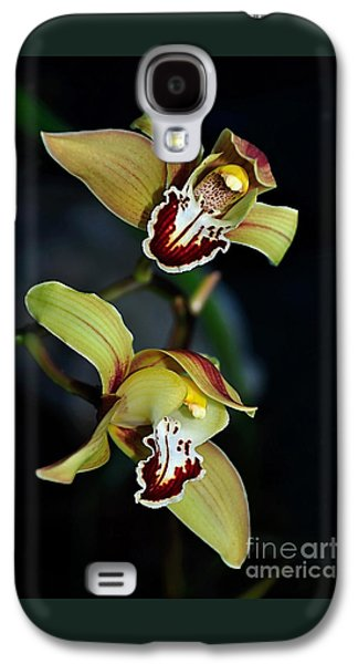 Orchids In The Evening Galaxy S4 Case