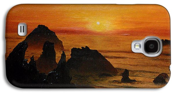 Oregon Sunset Galaxy S4 Case by Suzette Kallen