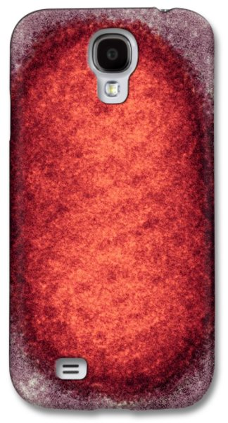 Orf Virus Particle Galaxy S4 Case