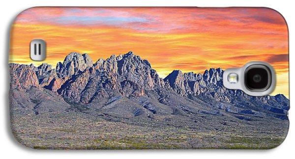 Mountain Sunset Galaxy S4 Case - Organ Mountain Sunrise Most Viewed  by Jack Pumphrey