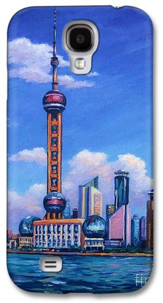 Oriental Pearl Shanghai Galaxy S4 Case by John Clark