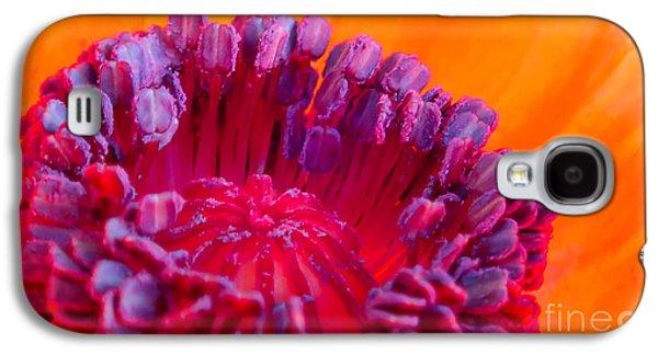 Oriental Poppy Galaxy S4 Case