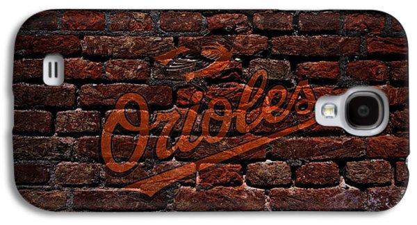 Orioles Baseball Graffiti On Brick  Galaxy S4 Case