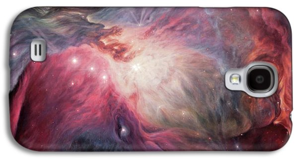 Orion Nebula M42 Galaxy S4 Case by Lucy West