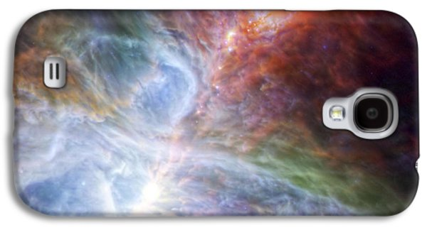 Orion's Rainbow Of Infrared Light Galaxy S4 Case by Adam Romanowicz