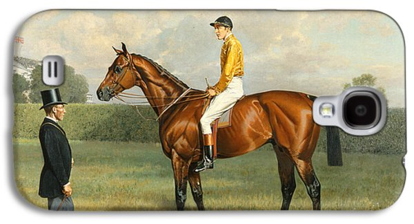 Ormonde Winner Of The 1886 Derby Galaxy S4 Case by Emil Adam