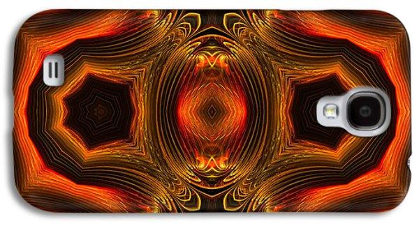 Ornamental Emblem Galaxy S4 Case