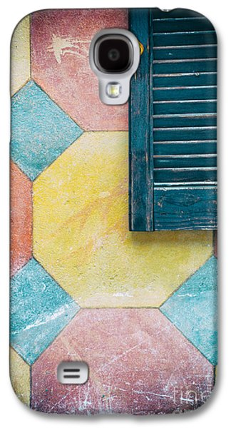 Ornate Wall With Shutter Galaxy S4 Case by Silvia Ganora