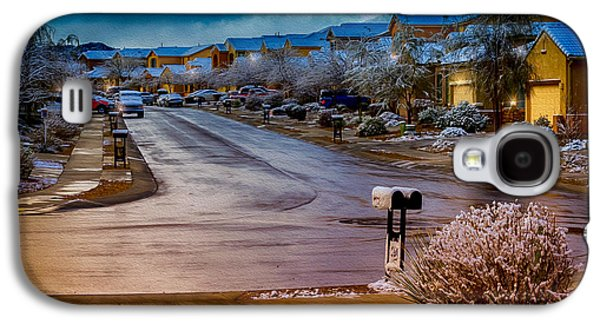 Oro Valley Winter No.54 Galaxy S4 Case by Mark Myhaver