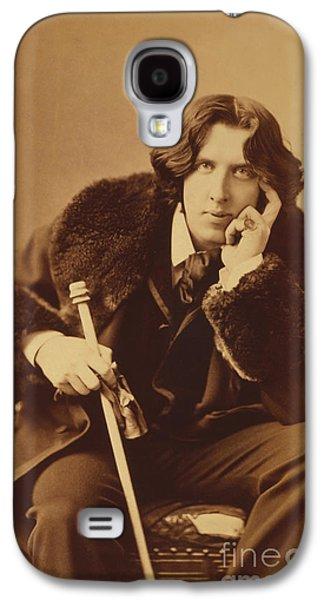 Oscar Wilde 1882 Galaxy S4 Case by Napoleon Sarony