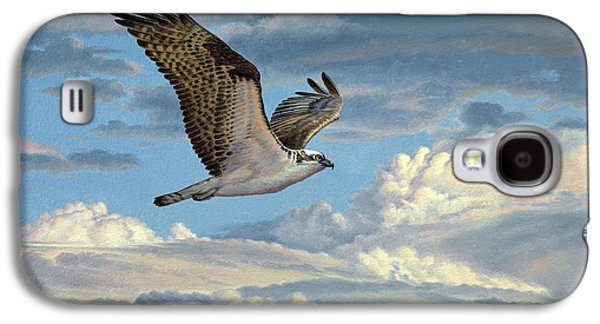 Osprey In The Clouds Galaxy S4 Case by Paul Krapf