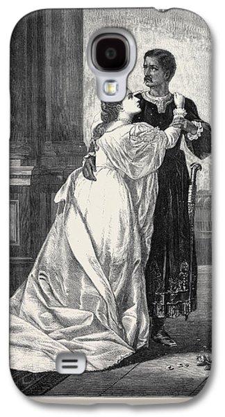 Othello And Desdemona Galaxy S4 Case