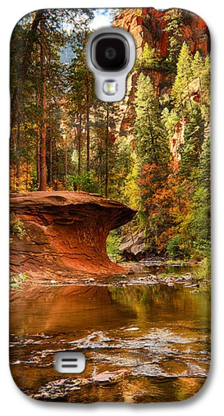 Out On A Ledge  Galaxy S4 Case by Saija  Lehtonen