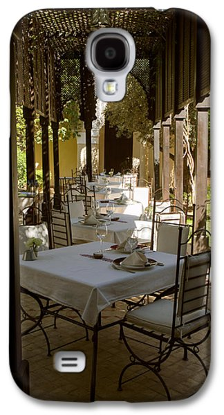 Outdoor Dining Area, Villa Des Orangers Galaxy S4 Case by Panoramic Images