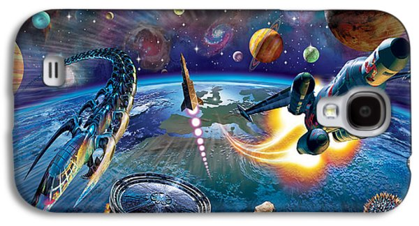 Outer Space Galaxy S4 Case by Adrian Chesterman