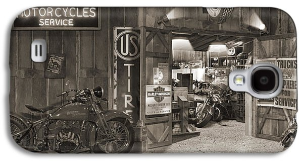 Outside The Old Motorcycle Shop - Spia Galaxy S4 Case