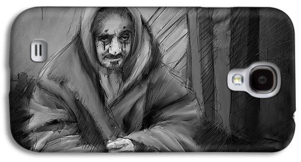 Winter's Clown.  Galaxy S4 Case by H James Hoff