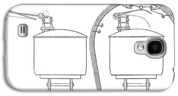 Overhead Train Power Lines Galaxy S4 Case
