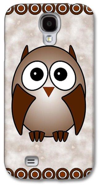 Owl - Birds - Art For Kids Galaxy S4 Case