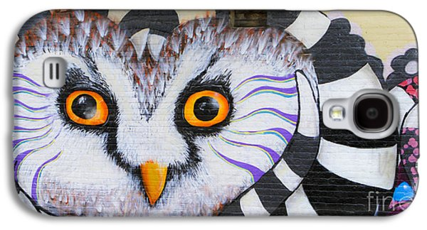 Galaxy S4 Case featuring the photograph Owl Mural by Ricky L Jones