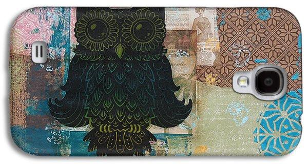 Owl Of Wisdom Galaxy S4 Case by Kyle Wood