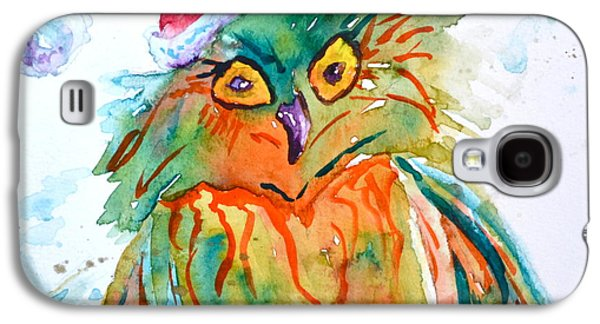 Owlellujah Galaxy S4 Case by Beverley Harper Tinsley