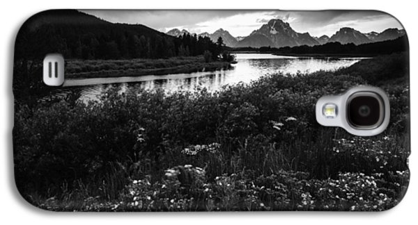 Oxbow Bend In Black And White Galaxy S4 Case